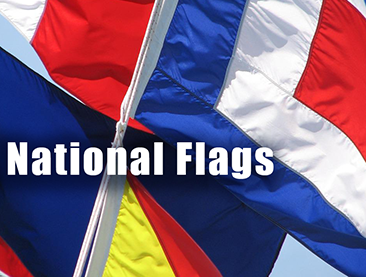 NATIONAL FLAGS RECTANGLE