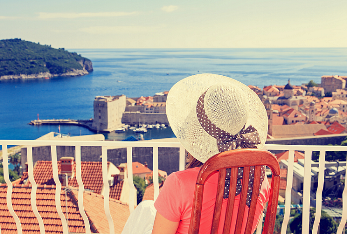 Dubrovnik Panoramic with Lady in hat shutterstock 225464662 700