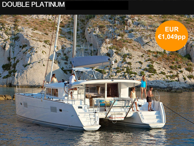 DOUBLE PLATINUM CATAMARAN 2017